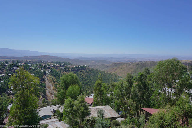 Lalibela, Red Rock Hotel, View 4