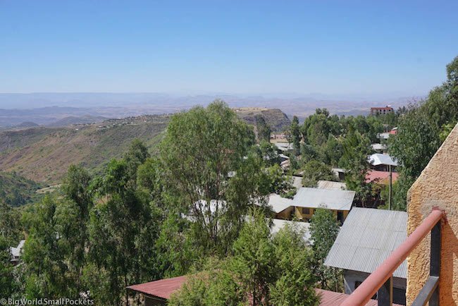 Lalibela, Red Rock Hotel, View 6