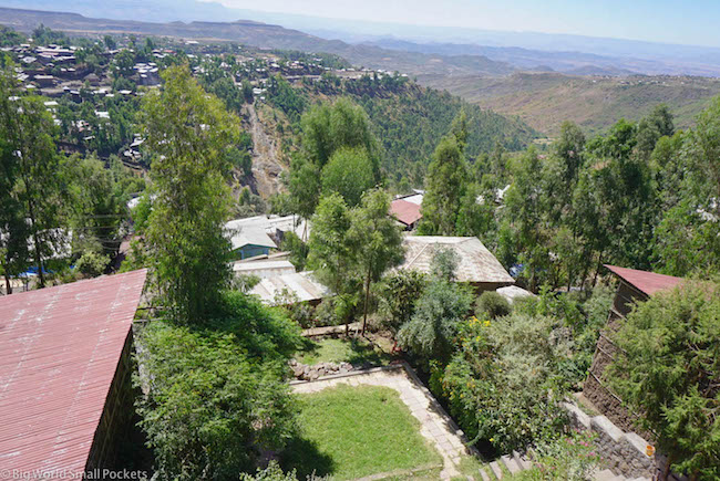 Lalibela, Red Rock Hotel, View 7