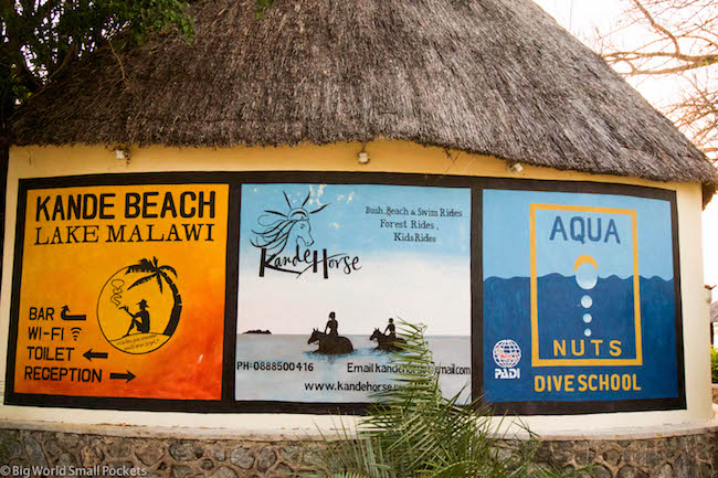 Malawi, Lake Malawi, Dive School