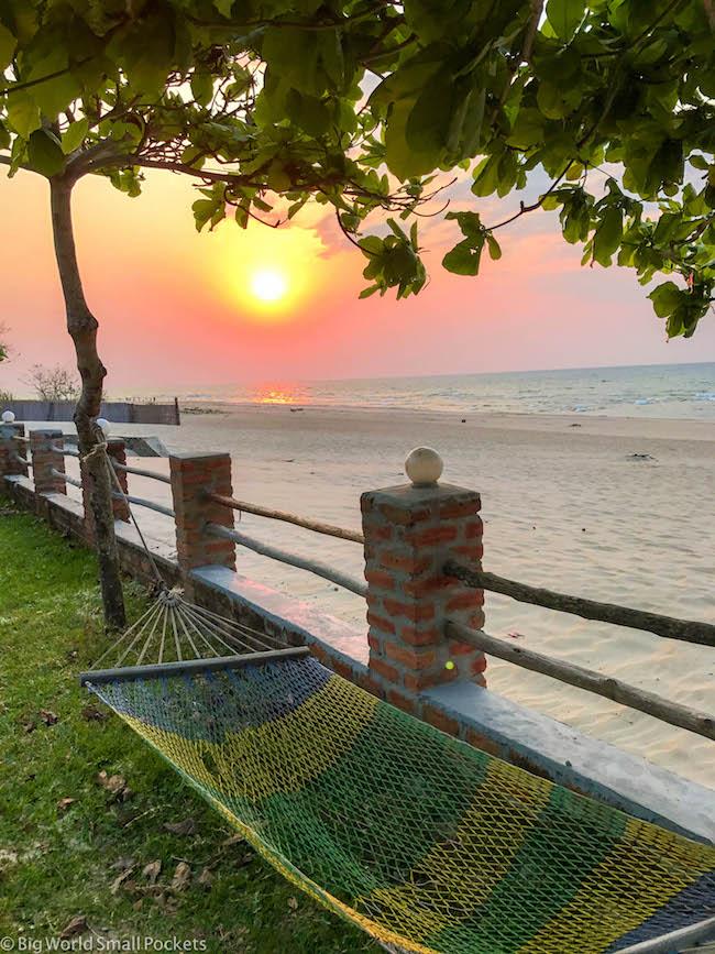 Malawi, Lake Malawi, Hammock
