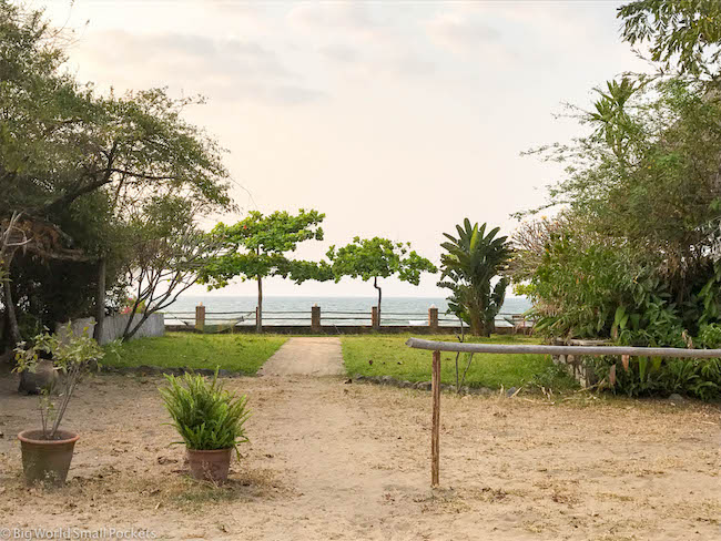 Malawi, Lake Malawi, Hostel View