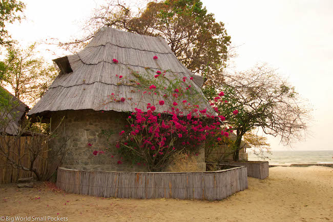 Malawi, Lake Malawi, Thatch Shack,