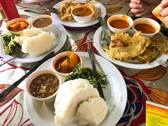 Tanzania, Dar Es Salaam, Local Food