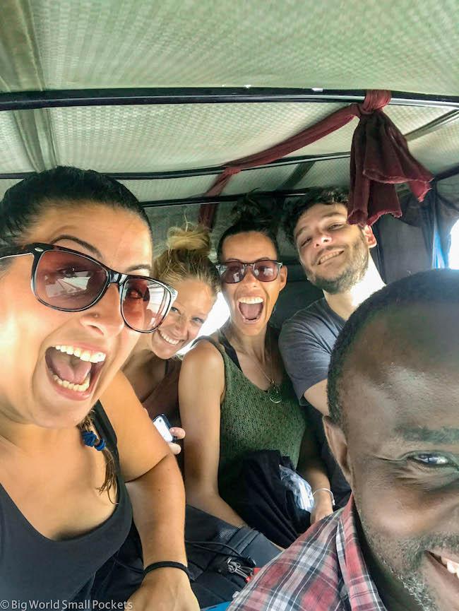 Tanzania, Dar Es Salaam, Tuk Tuk Fun!