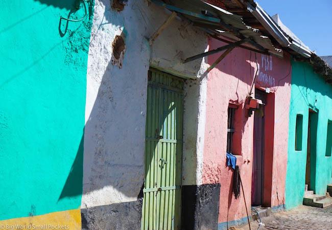 Ethiopia, Harar, Houses