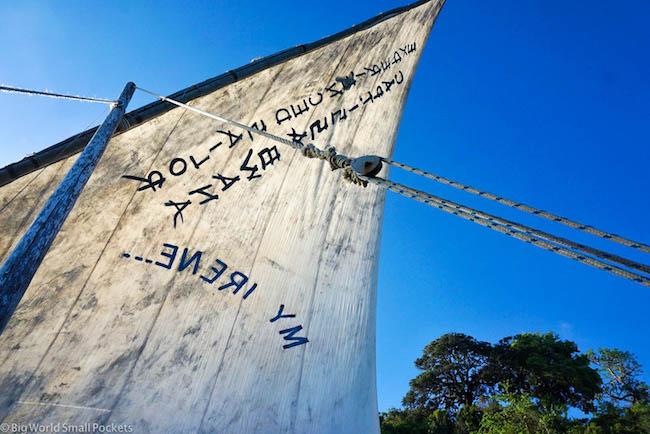 Kenya, Kilifi, Dhow Sail