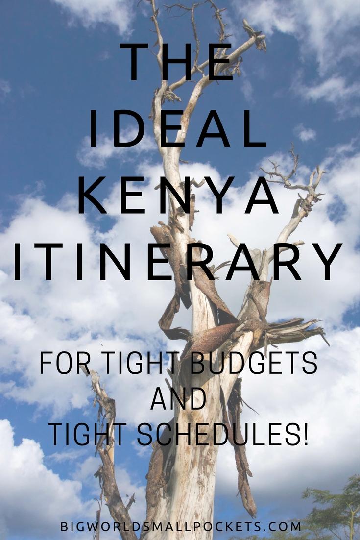 The Ideal 2 Week Kenya Itinerary for a Tight Budget! {Big World Small Pockets}