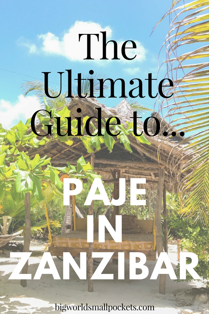 The Ultimate Guide to Visiting Paje in Zanzibar {Big World Small Pockets}