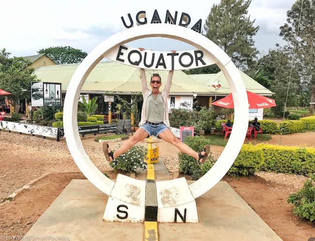 Uganda, Equator, Me Swinging