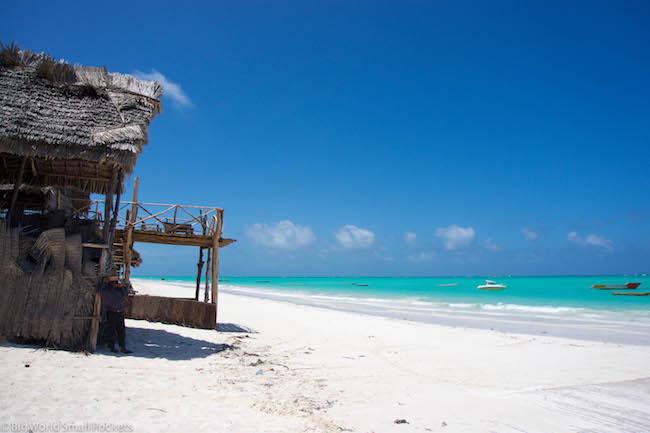 Zanzibar, Paje, Beach Shack