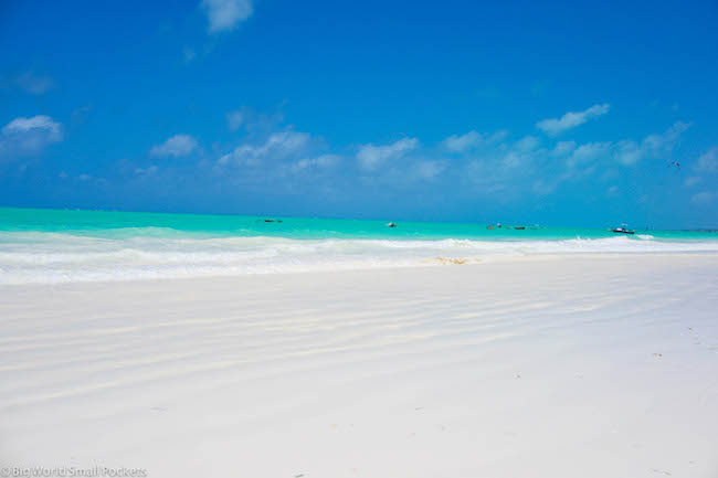 Zanzibar, Paje, Beach