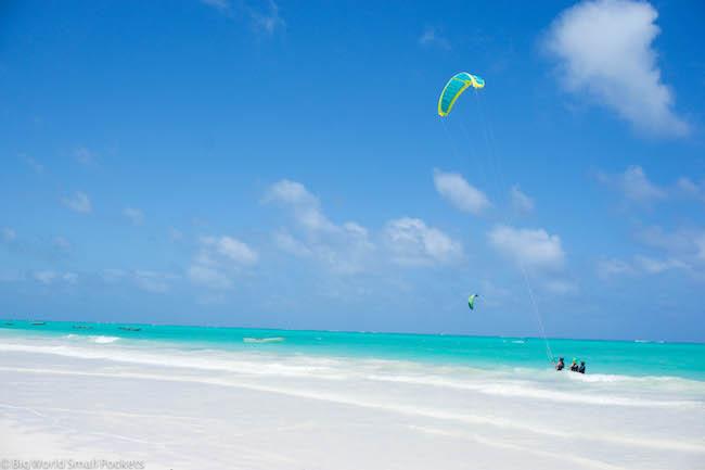 Zanzibar, Paje, Kitesurfing