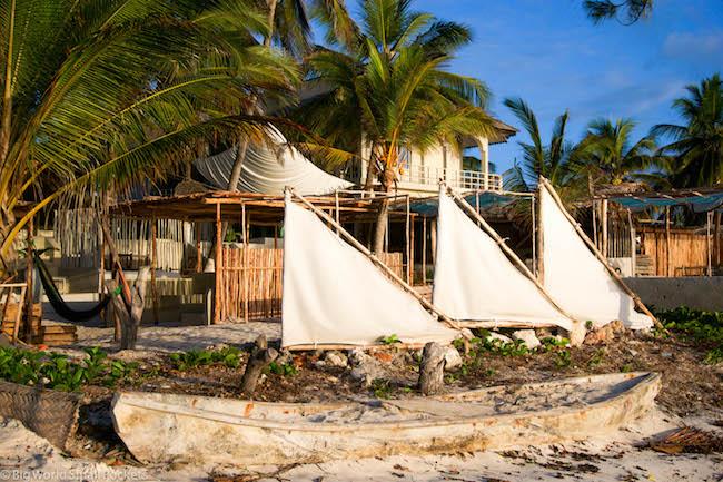 Zanzibar, Paje, Sails