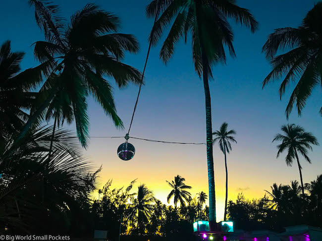 Zanzibar, Paje, Sunset
