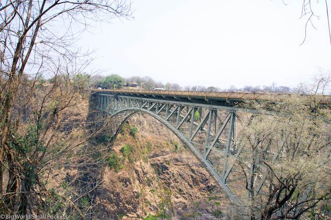 Zimbabwe, Victoria Falls, Bungee Bridge
