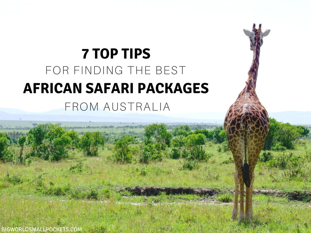 African safari deals 2018