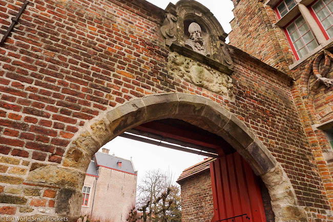 Belgium, Bruges, Archway