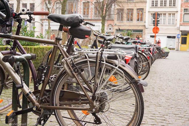 Belgium, Bruges, Bikes