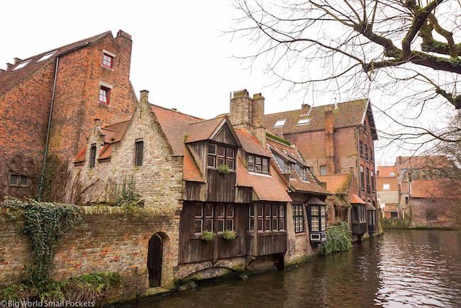 Belgium, Bruges, Canal Cruise