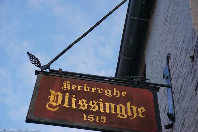Belgium, Bruges, Herberg Vlissinghe