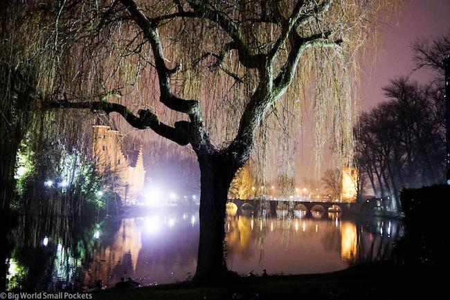Belgium, Bruges, Love Lake