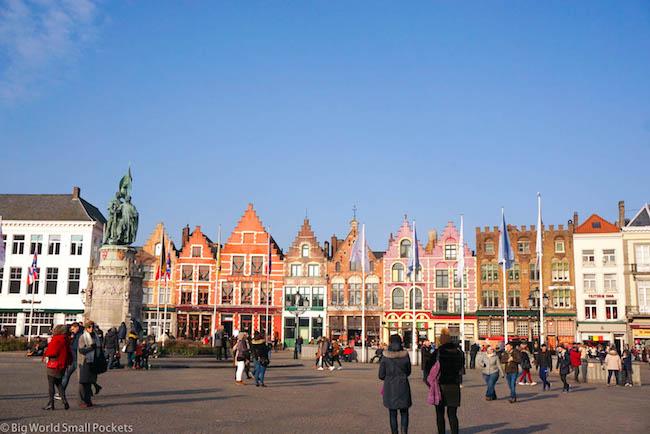Belgium, Bruges, the Markt