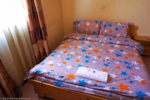 Ethiopia, Addis Ababa, Mr Martins Bedroom