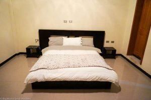 Ethiopia, Afeworki Guest House, Bedroom