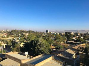 Ethiopia, Afeworki Guest House, Views