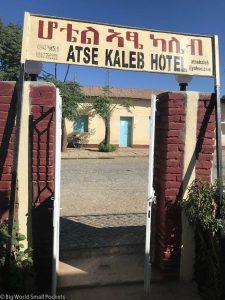 Ethiopia, Axum, Atse Kaleb Hotel