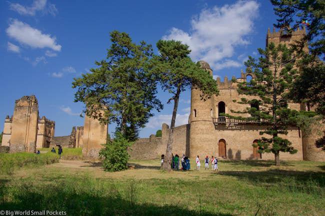 Ethiopia, Gondar, Royal Enclosure