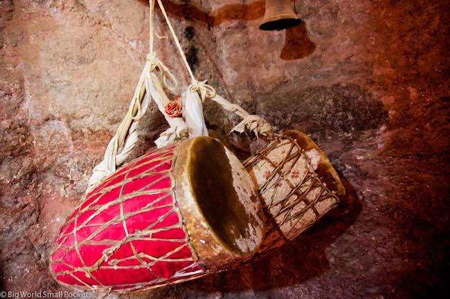 Ethiopia, Lalibela, Drums