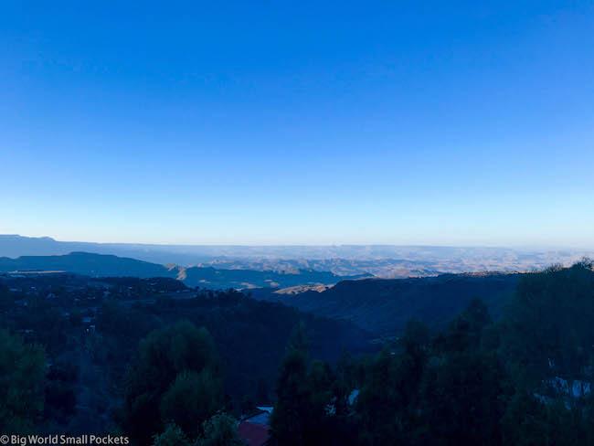 Ethiopia, Lalibela, Mountain Views