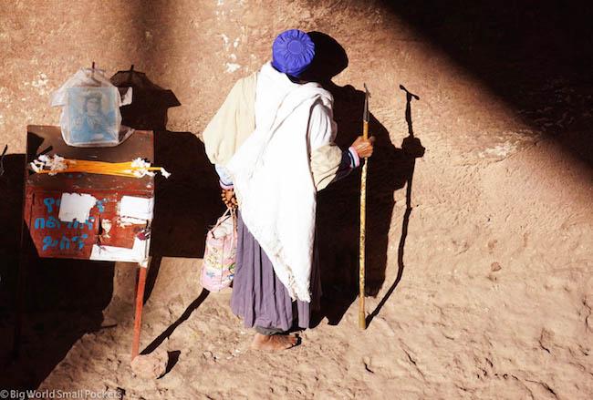 Ethiopia, Lalibela, Pilgrim 3