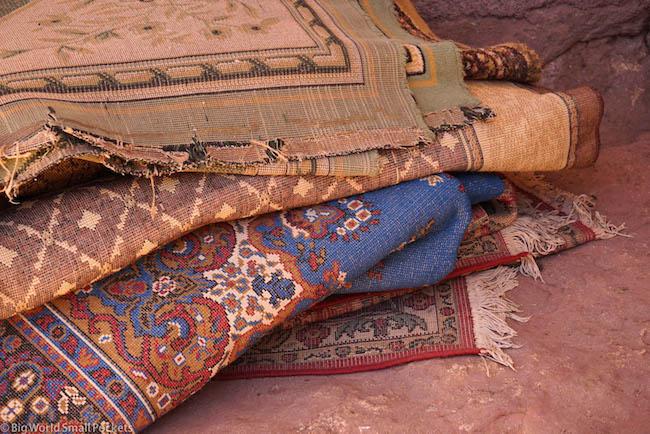 Ethiopia, Lalibela, Rugs