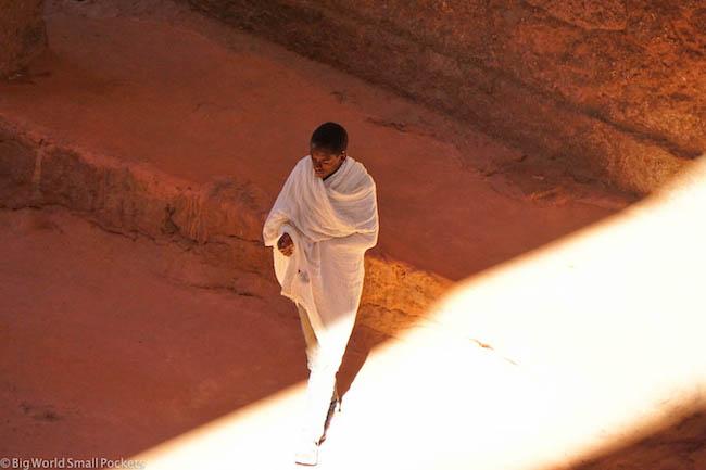 Ethiopia, Lalibela, Solo Man
