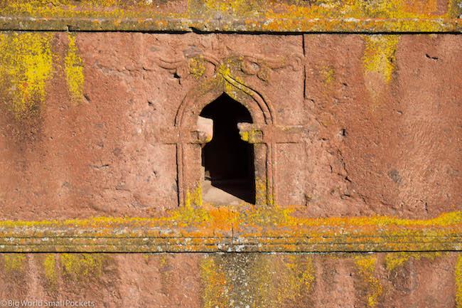 Ethiopia, Lalibela, St George's Window
