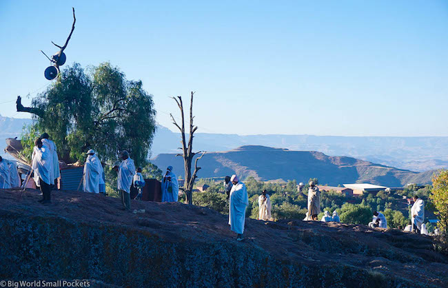 Ethiopia, Lalibela, Sunday Mass