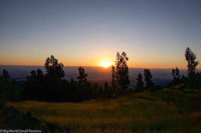 Ethiopia, Lalibela, Sunset 2