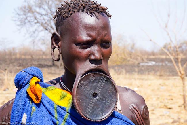Ethiopia, Mursi, Lip Plate