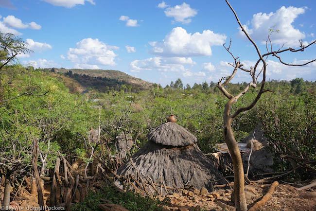Ethiopia, Omo Valley, Konso Home