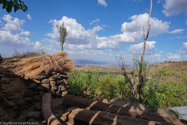 Ethiopia, Omo Valley, Konso View