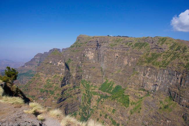 Ethiopia, Simien Mountains, Scenery