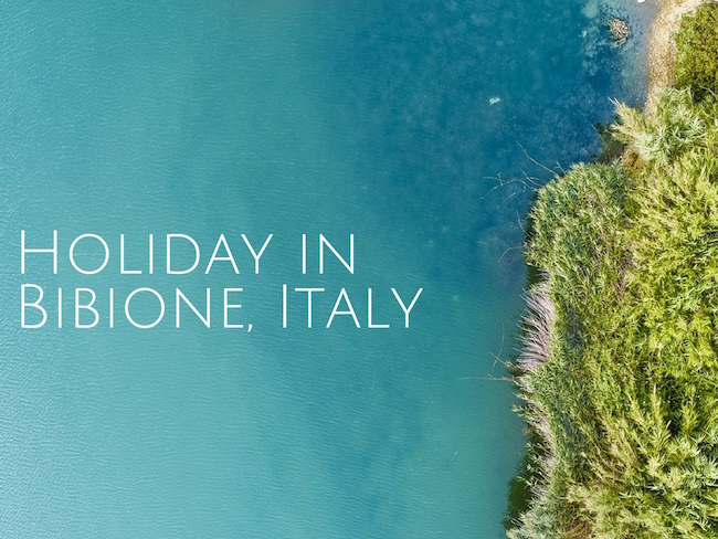Holiday in Bibione, Italy