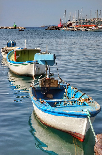 Italy, Bibione, Boats