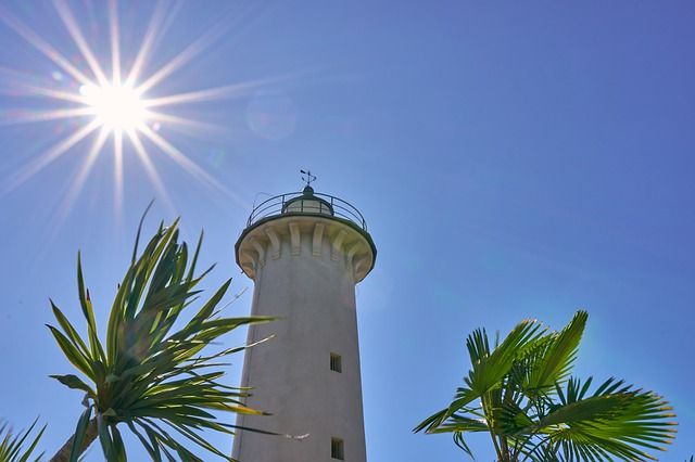 Italy, Bibione, Lighthouse