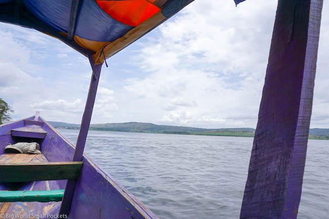 Uganda, Jinja, Crusing the Nile