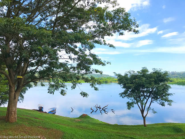 Uganda, Jinja, Lake Bujagali Views