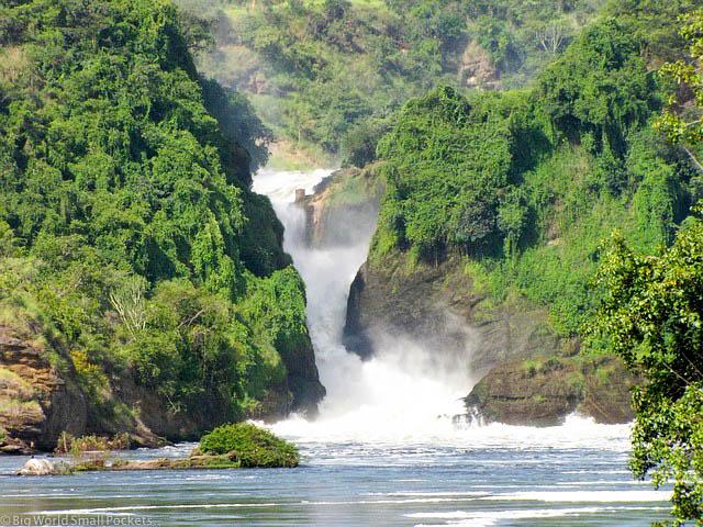Uganda, Murchison Falls NP, Devils Cauldron